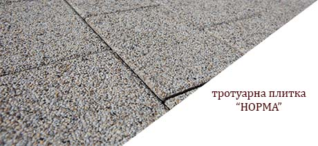 Тротуарна плитка Норма